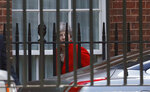 Britain's Prime Minister Theresa May leaves Downing Street in London, Friday, May 24, 2019. May announced Friday that she will step down as U.K. Conservative Party leader on June 7, admitting defeat in her attempt to take Britain out of the European Union and sparking a contest to become the country's next prime minister.  (AP Photo/Frank Augstein)