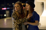 This image released by Annapurna Pictures shows Billie Lourd, left, and Kaitlyn Dever in a scene from the film