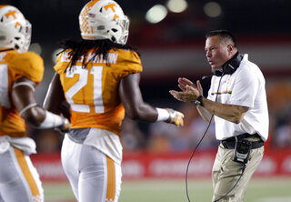 Butch Jones, Jalen Reeves Maybin