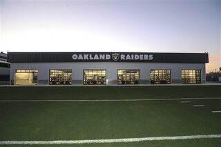 Raiders New Facility Football