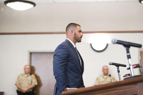 Rams Higbee Charged