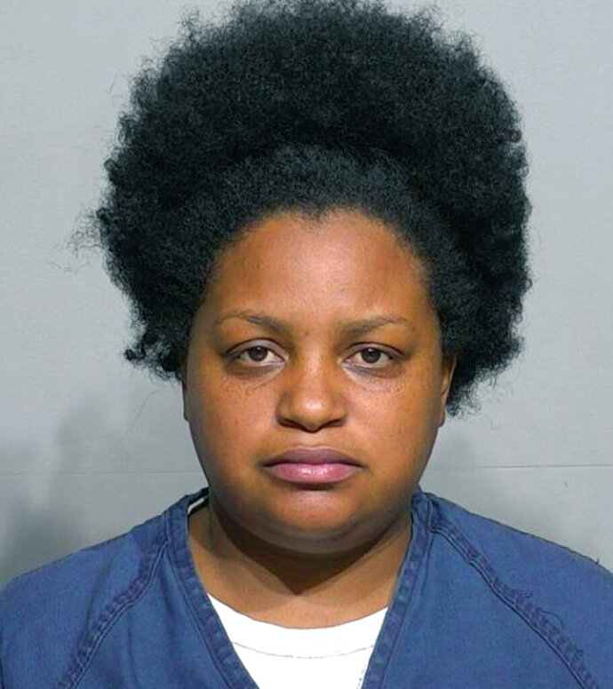 This Friday, Sept. 6, 2019 booking photo provided by the Milwaukee County Sheriff's Office, shows Iraida Pizarro-Osorio. Pizarro-Osorio is facing child neglect charges following the death of her 42-pound teenage son. (Milwaukee County Sheriff's Office via AP)