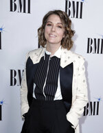 Brandi Carlile arrives at 67th Annual BMI Country Awards ceremony at BMI Music Row offices on Tuesday, Nov. 12, 2019, in Nashville, Tenn. (Photo by Al Wagner/Invision/AP)