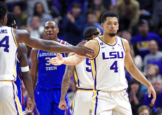 Louisiana Tech LSU Basketball