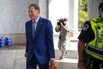 Geoffrey Berman, former federal prosecutor for the Southern District of New York, arrives for a closed door meeting with House Judiciary Committee, Thursday, July 9, 2020, in Washington. (AP Photo/Manuel Balce Ceneta)