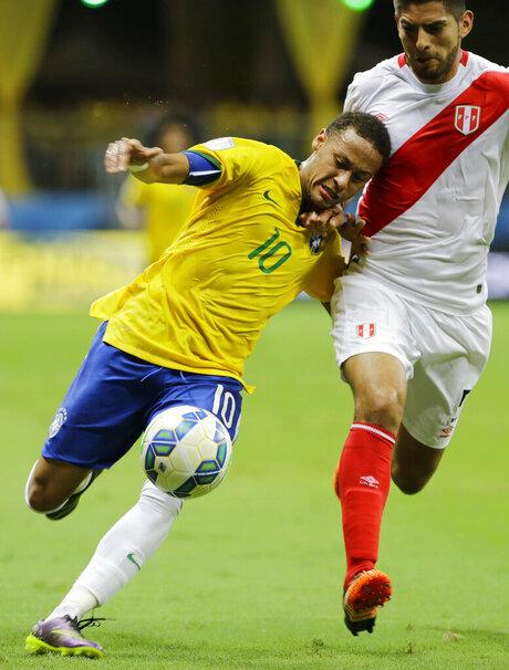 Carlos Zambrano, Neymar