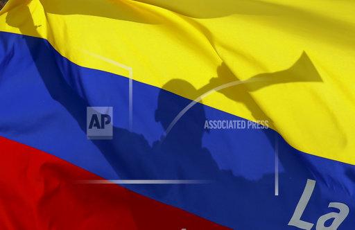 APTOPIX Ecuador Colombia Wcup Soccer