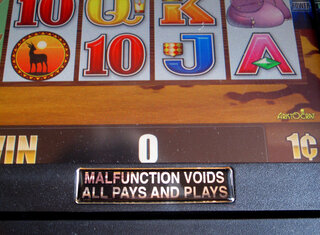 Gambling Malfunctions
