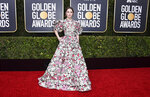 Kaitlyn Dever arrives at the 77th annual Golden Globe Awards at the Beverly Hilton Hotel on Sunday, Jan. 5, 2020, in Beverly Hills, Calif. (Photo by Jordan Strauss/Invision/AP)