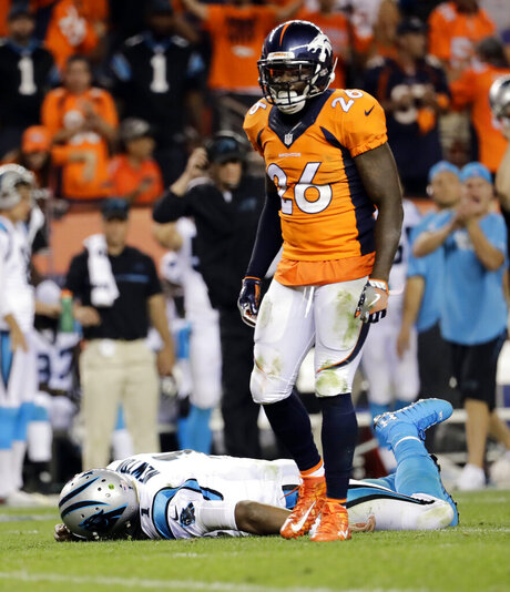 Panthers Broncos Football
