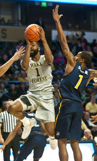 UNC Greensboro Wake Forest Basketball