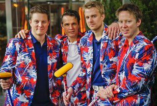 Norwegian Pants Curling Olympics