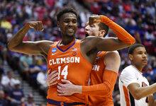 APTOPIX NCAA Clemson Auburn Basketball