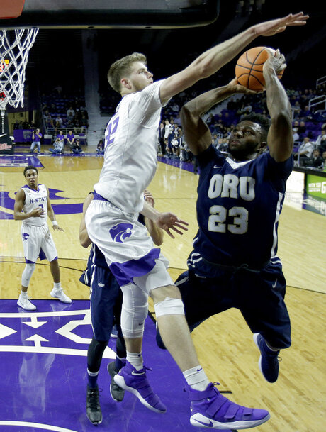 Oral Roberts Kansas St Basketball