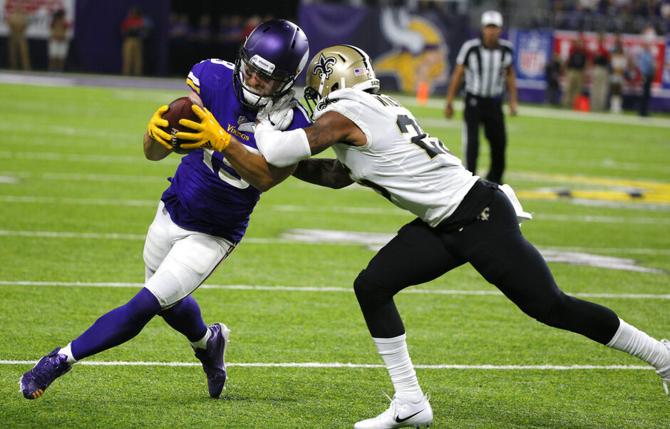 Adam Thielen, P.J. Williams
