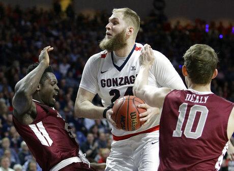 Gonzaga Karnowski Basketball