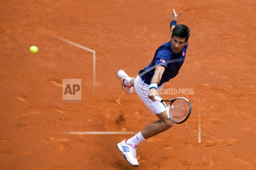 CORRECTION Spain Tennis Madrid Open