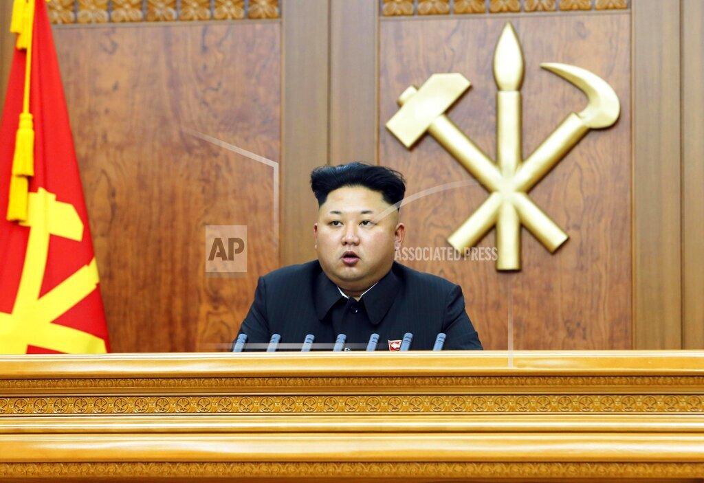 N Korean leader says open to summit talks with S. Korea