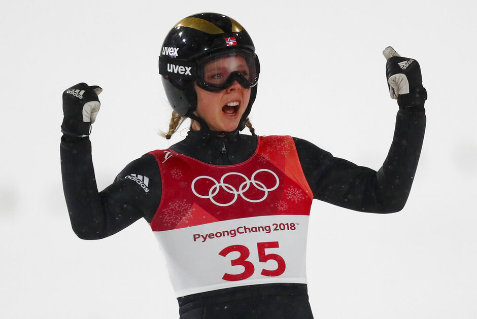 Pyeongchang Olympics Ski Jumping Women