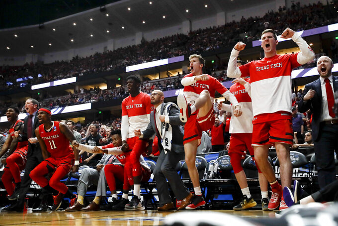 Texas Tech locks down 'Zags to earn to 1st Final Four trip