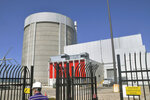 FILE - This June 24, 2010 file photo shows the Palisades nuclear power plant, located in Covert Township, Mich. A company that manufactures giant containers used to store spent radioactive fuel has signed a deal to purchase the plant, slated for closure in 2022, for accelerated decommissioning. (John Madill /The Herald-Palladium via AP, File)