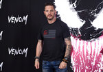 FILE - Tom Hardy attends a photo call for