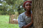 This image released by Focus Features shows Cynthia Erivo as Harriet Tubman in a scene from