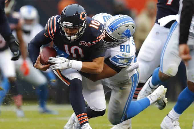 Bears try to build momentum against Rams after beating Lions