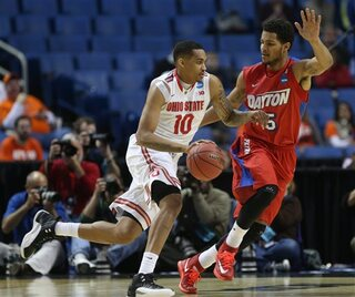 NCAA Dayton Ohio State Basketball