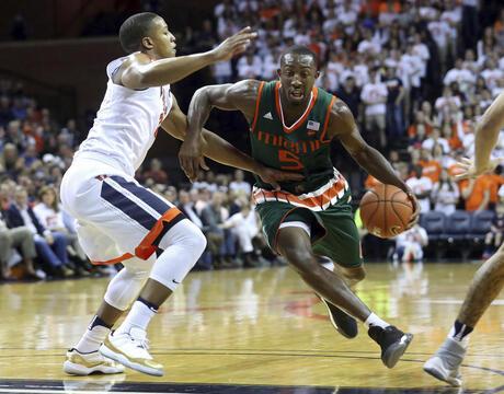 Miami Virginia Basketball
