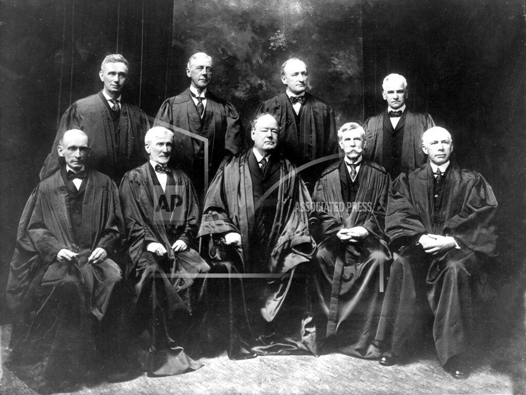 Associated Press Domestic News New York United States U.S. SUPREME COURT JUSTICE 1917