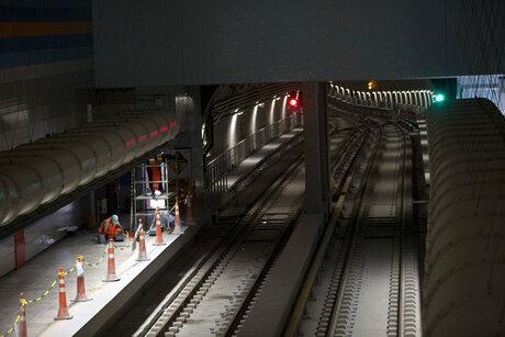 Rio Olympics Subway Line