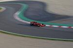 Ferrari driver Sebastian Vettel of Germany steers his car during a Formula One pre-season testing session at the Catalunya racetrack in Montmelo, outside Barcelona, Spain, Tuesday, Feb. 26, 2019. (AP Photo/Joan Monfort)