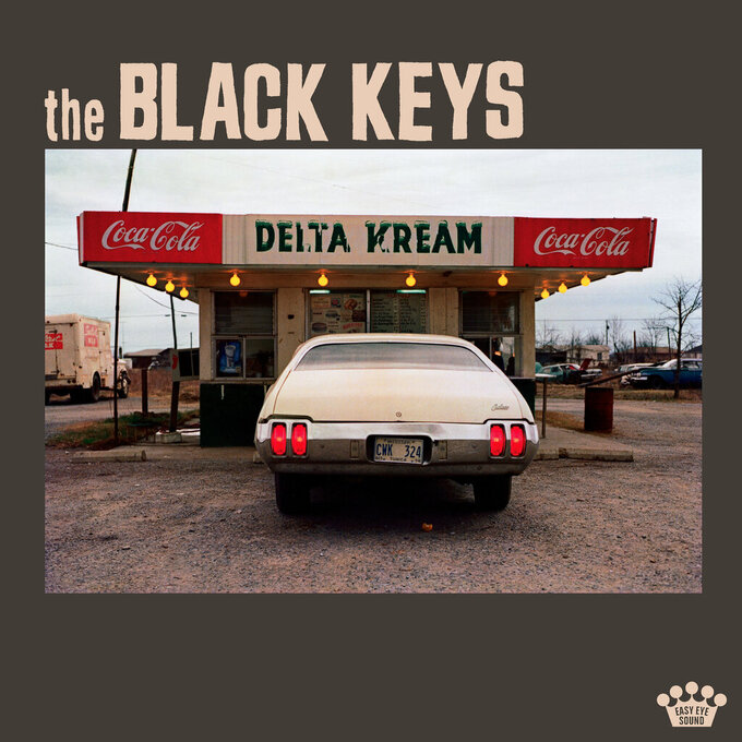 """This image released by Nonesuch Records shows """"Delta Kream"""" by The Black Keys. (Nonesuch Records via AP)"""