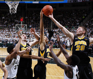 Jarrod Uthoff, Christian Williams, Adam Woodbury, Deyonta Davis, Eron Harris