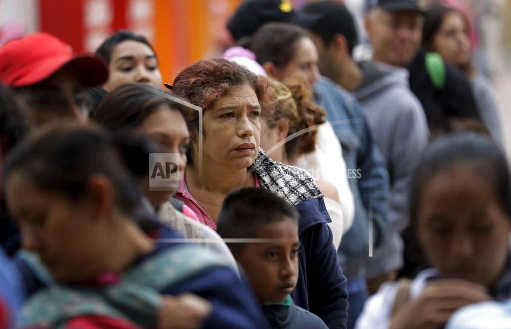 Migrant Caravan US Border