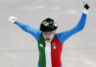 APTOPIX Pyeongchang Olympics Short Track Speed Skating Women