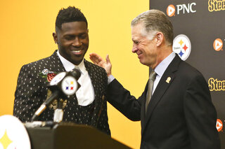 Art Rooney II, Antonio Brown