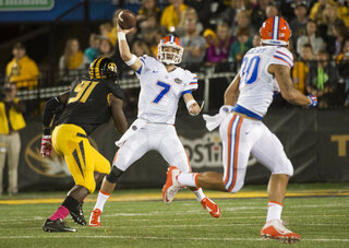 Will Grier, Charles Harris, DeAndre Goolsby