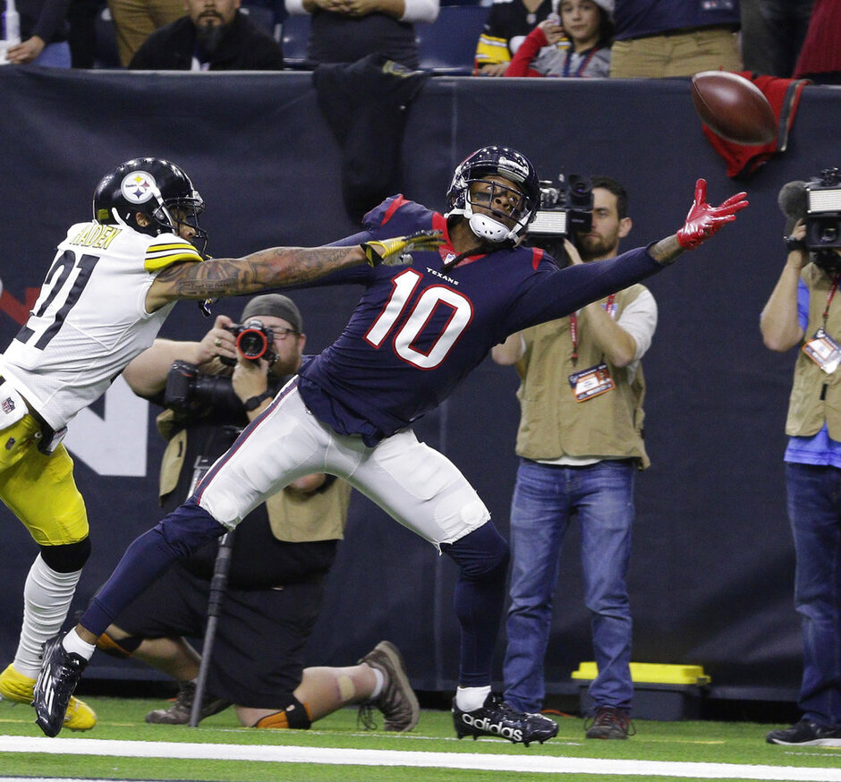 DeAndre Hopkins, Joe Haden