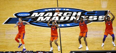 NCAA Clemson Basketball