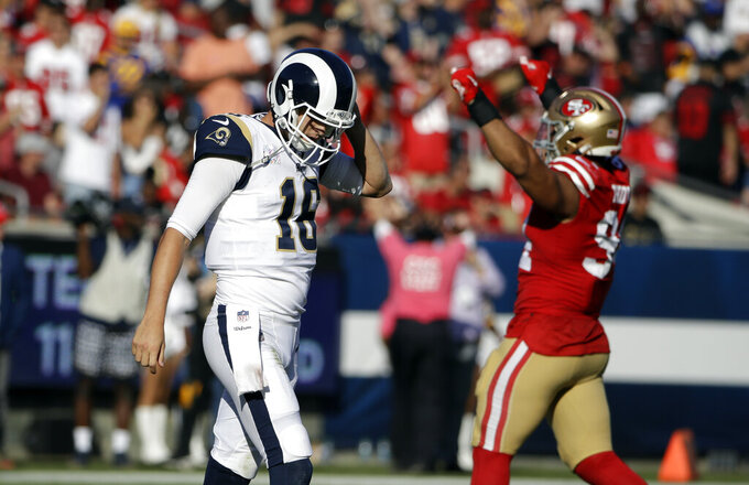 McVay expects beat-up Rams to bounce back from losing streak