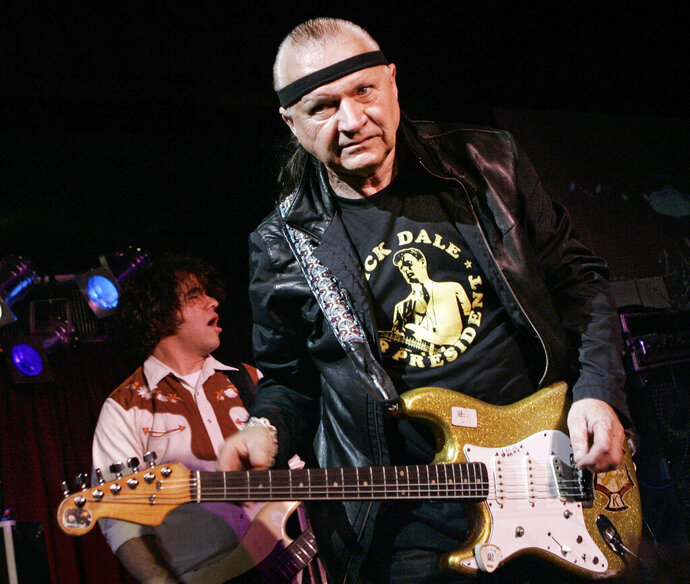 FILE - In this May 27, 2007 file photo, Dick Dale, known as