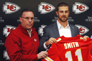 John Dorsey, Andy Reid, Alex Smith
