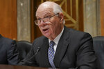 RETRANSMISSION TO CORRECT RANK TO INTELLIGENCE ANALYST - FILE- In this Tuesday, Nov. 14, 2017 file photo, ranking member Sen. Ben Cardin, D-Md., speaks during a Senate Foreign Relations Committee hearing on North Korea on Capitol Hill in Washington. On Thursday, Jan. 11, 2018, Chelsea Manning, the transgender former Army intelligence analyst who was convicted of leaking classified documents, filed her statement of candidacy with the Federal Election Commission to run for the U.S. Senate in Maryland. She will challenge Democrat Ben Cardin who has served two terms. (AP Photo/Pablo Martinez Monsivais)
