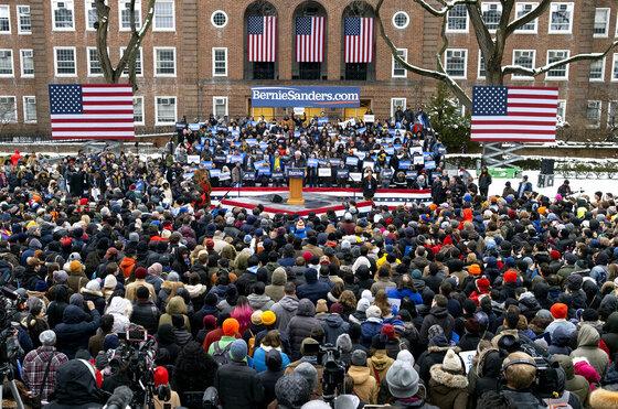 Election 2020 Sanders Clinton