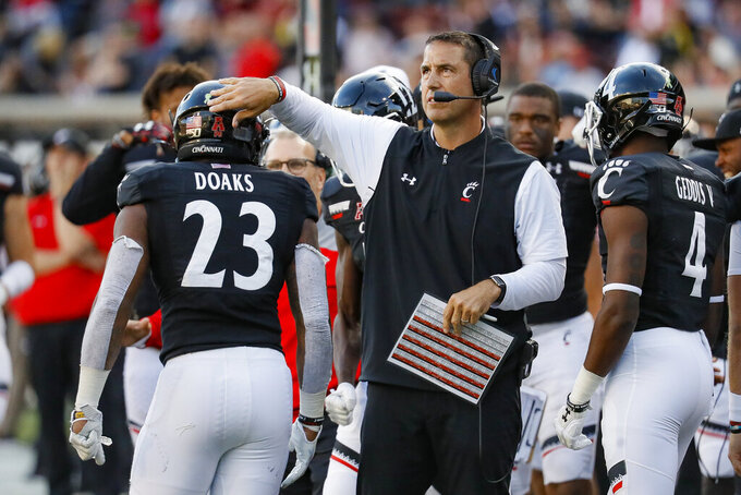No. 17 Cincinnati visits ECU looking for 6th straight win
