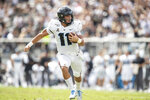 Central Florida quarterback Dillon Gabriel (11) runs the ball into the end zone for a touchdown during the first half of an NCAA college football game against Houston in Orlando, Fla., Saturday, Nov. 2, 2019. (Photo/Willie J. Allen Jr.)