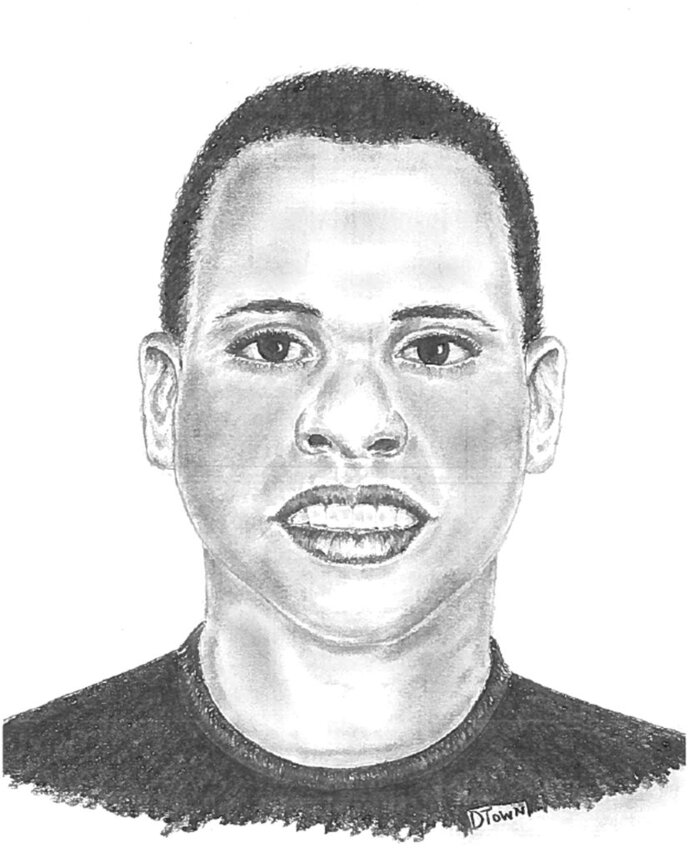 This image provided by the Dallas Police Department shows a sketch of a transgender woman the Dallas police is asking for the public's help in identifying. Deputy Chief Thomas Castro of the Dallas police says a kayaker found the badly decomposed body of the black, 5-foot-3-inch, 130-pound transgender woman on Saturday, May 12, 2018, in White Rock Creek, a northeastern Dallas residential neighborhood. (Dallas Police Department via AP)