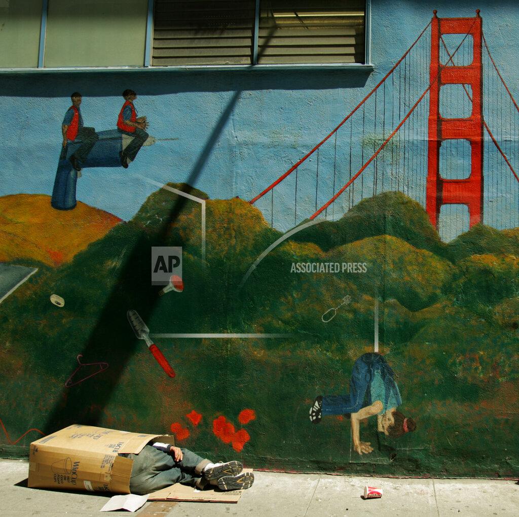 Associated Press Domestic News California United States HOMELESS